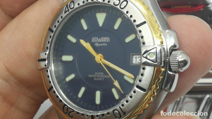 Relojes: RELOJ DUWARD AQUASTAR 10 ATM, STOCK DE ESCAPARATE, ESTILO DEPORTIVO - Foto 60 - 140605642