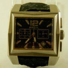 Relojes: RELOJ BREIL MILANO CRONOGRAFO ACERO FUNCIONANDO 39 X 33MM. Lote 140709950