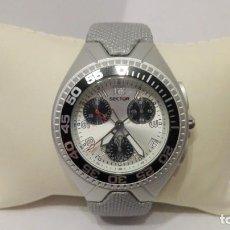 Relojes: RELOJ UNISEX MARCA SECTOR NO LIMITS CHRONO.CAJA DE ALUMINIO.WR. 100 M. NUEVO A ESTRENAR.. Lote 140794610