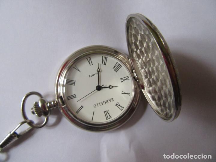 RELOJ DE BOLSILLO DE COLECCION MARCA BERGELLO SIN PILA , CON CADENA COMPLETAMENTE NUEVO (Relojes - Relojes Actuales - Otros)