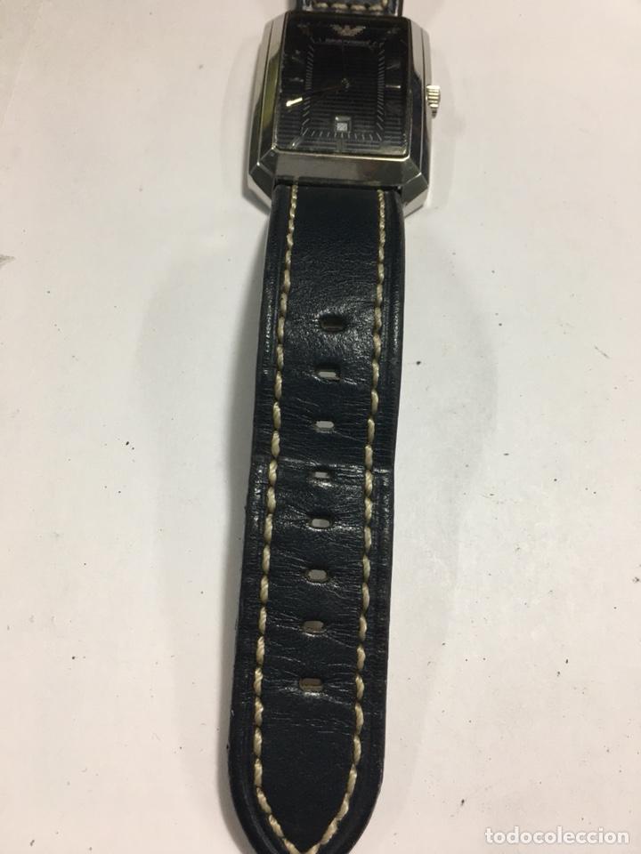 Relojes: Reloj Emporio Armani rectangular esfera negra - Foto 3 - 141124021