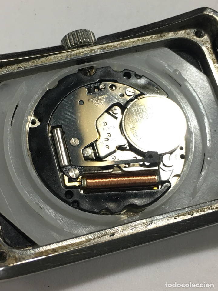 Relojes: Reloj Emporio Armani rectangular esfera negra - Foto 7 - 141124021