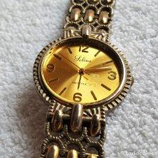 Relojes: RELOJ CABALLERO JOLINA QUARTZ METAL - 20.CM LARGO - CAJA 31.MM DIAMETRO APROX. Lote 143714509