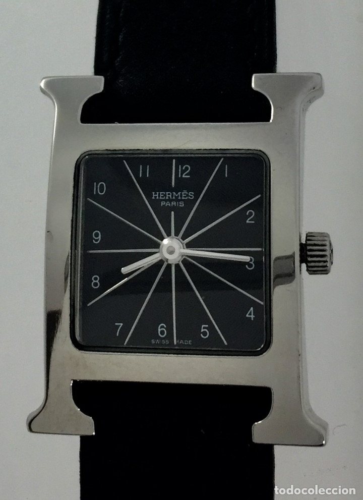 Relojes: HERMÈS PARIS-ACERO-CORREA Y HEBILLA HERMÈS - Foto 2 - 68137529