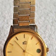 Relojes: RELOJ CABALLERO METAL COLIBRI QUARTZ CALENDARIO - 20.CM LARGO - ESFERA 2.7.CM DIAMETRO. Lote 142262002
