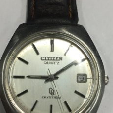 Relojes: RELOJ CITIZEN QUARTZ CRYSTON. Lote 142507570
