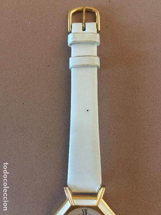 Relojes: RELOJ PULSERA MARCA FIRENZE (SUIZA) CUARZO CORREA ESTILO PIEL VINTAGE SIN CAJA - Foto 3 - 142712142