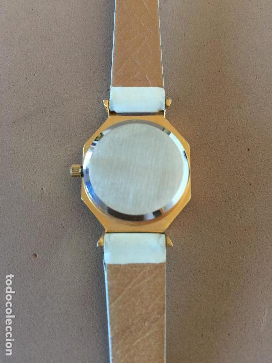 Relojes: RELOJ PULSERA MARCA FIRENZE (SUIZA) CUARZO CORREA ESTILO PIEL VINTAGE SIN CAJA - Foto 6 - 142712142