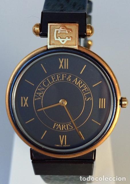 VAN CLEEF&ARPELS MOD.LA COLLECTION -PLAQUÈ ORO 18KTS.¡¡NUEVO A ESTRENAR!! (Relojes - Relojes Actuales - Otros)
