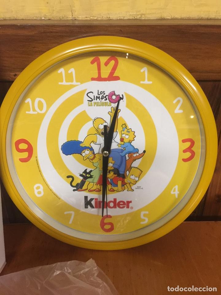 Relojes: RELOJ DE PARED LOS SIMPSONS LA PELICULA PROMOCIONAL KINDER - Foto 2 - 213467140