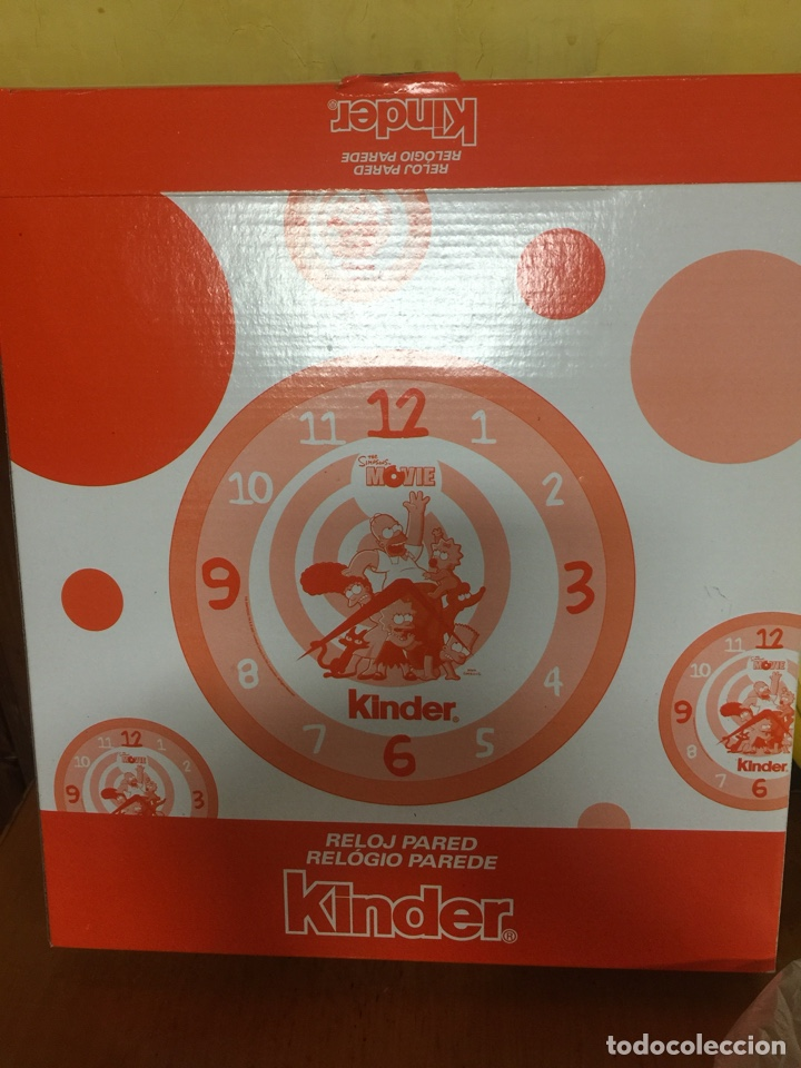 Relojes: RELOJ DE PARED LOS SIMPSONS LA PELICULA PROMOCIONAL KINDER - Foto 3 - 213467140