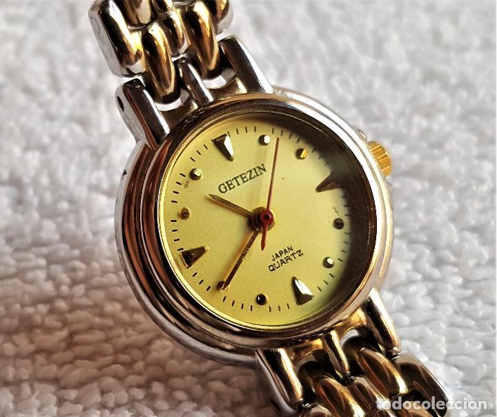 Relojes: RELOJ MUJER GETEZIN QUARTZ METAL - 17.CM LARGO - ESFERA 1.9.CM DIAMETRO - Foto 5 - 142963602