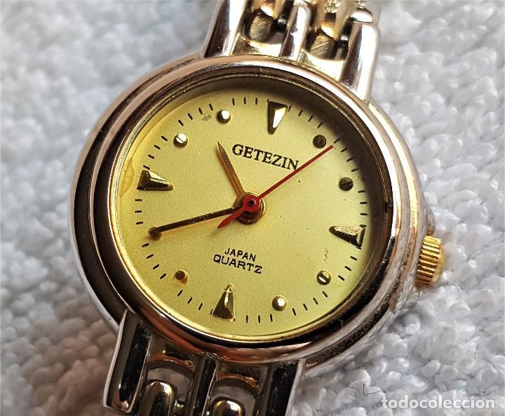 Relojes: RELOJ MUJER GETEZIN QUARTZ METAL - 17.CM LARGO - ESFERA 1.9.CM DIAMETRO - Foto 6 - 142963602