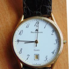 Relojes: RELOJ MAURICE LACROIX QUARTZ CAJA ORO 18 KT. Lote 142967838