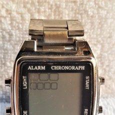 Relojes: RELOJ DIGITAL POR EL ESTILO DE CASIO METAL - 19.CM LARGO - ESFERA 2.9 X 2.8.CM . Lote 159509444