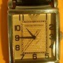 Relojes: EMPORIO ARMANI - ANTIGUO (BATERIA NUEVA). FUNCIONANDO. ACERO. AÑOS 70. ESEFRA TEXTU. INFO EN DESCRI. Lote 143132482