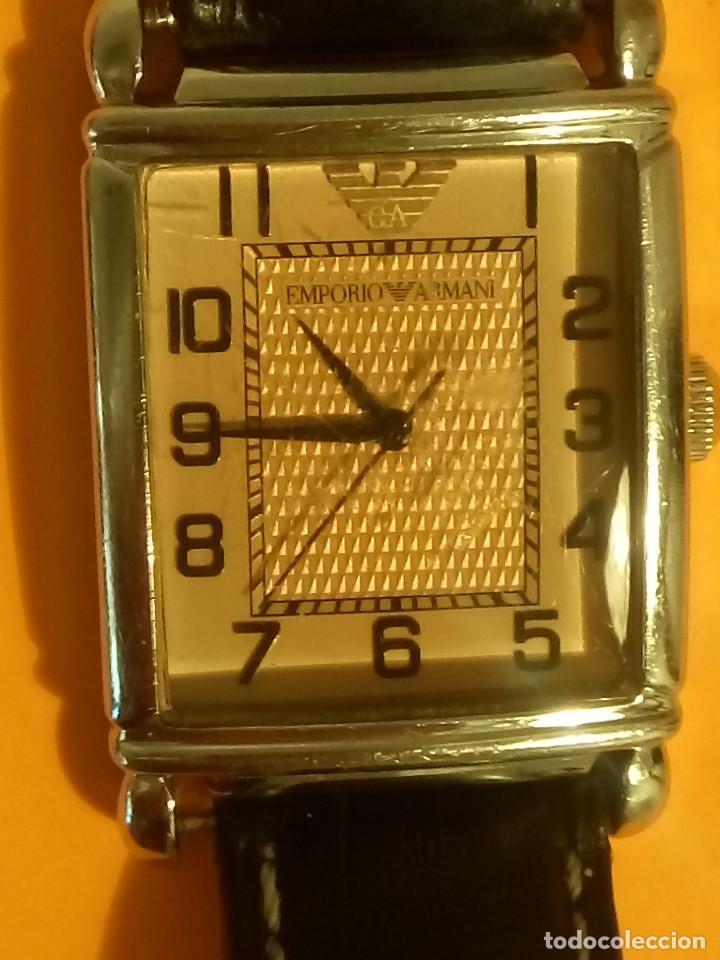 Relojes: EMPORIO ARMANI - ANTIGUO (BATERIA NUEVA). FUNCIONANDO. ACERO.. ESEFRA TEXTU. INFO EN DESCRI - Foto 12 - 143132482