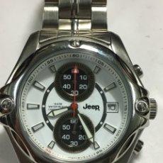 Relojes: RELOJ JEEP CHRONOGRAPH 100 METROS QUARTZ NUEVO EN ACERO COMPLETO CON CAJA. Lote 143205029