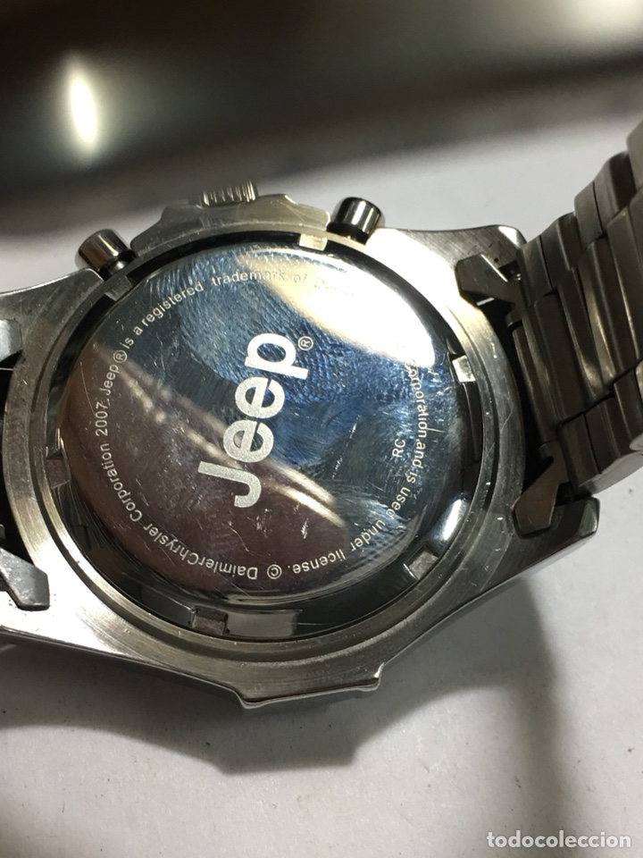 c1501dfe8503 Watches  Reloj Jeep Chronograph 100 metros Quartz nuevo en acero completo  con caja - Foto