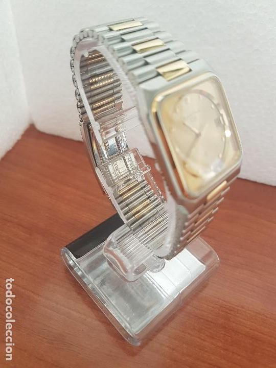 Relojes: Reloj caballero (Vintage) CERTINA DS de cuarzo bicolor acero y oro todo original correa original. - Foto 3 - 143746070
