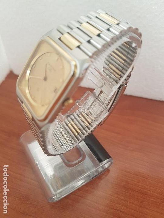 Relojes: Reloj caballero (Vintage) CERTINA DS de cuarzo bicolor acero y oro todo original correa original. - Foto 6 - 143746070