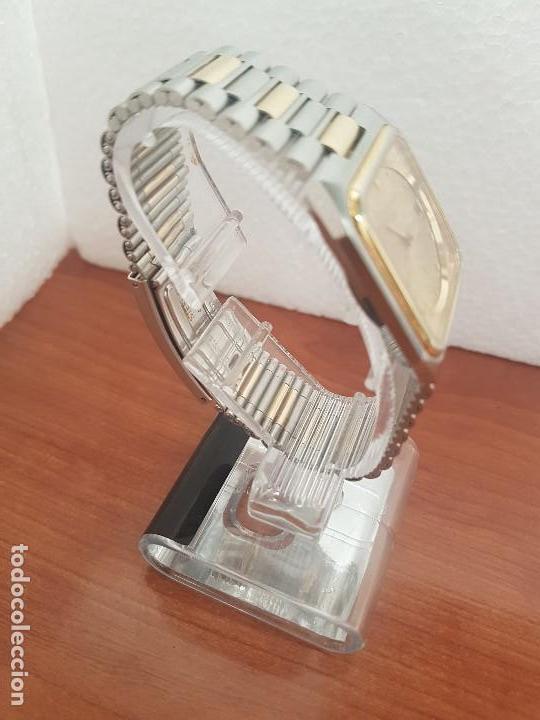 Relojes: Reloj caballero (Vintage) CERTINA DS de cuarzo bicolor acero y oro todo original correa original. - Foto 7 - 143746070