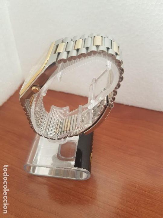 Relojes: Reloj caballero (Vintage) CERTINA DS de cuarzo bicolor acero y oro todo original correa original. - Foto 8 - 143746070