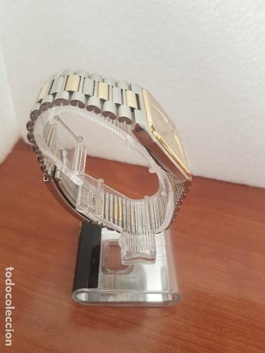 Relojes: Reloj caballero (Vintage) CERTINA DS de cuarzo bicolor acero y oro todo original correa original. - Foto 10 - 143746070