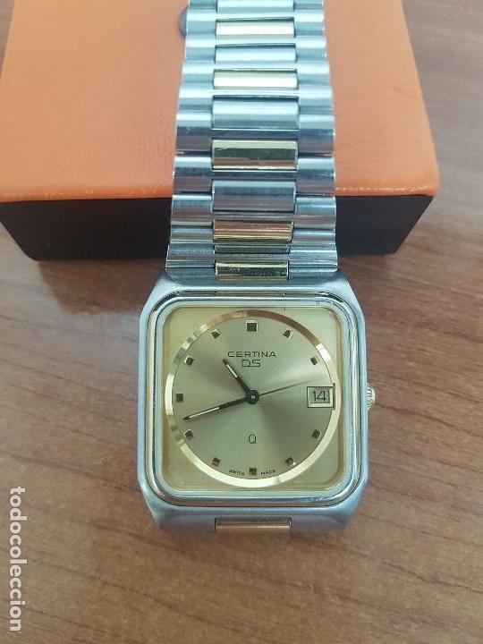 Relojes: Reloj caballero (Vintage) CERTINA DS de cuarzo bicolor acero y oro todo original correa original. - Foto 11 - 143746070
