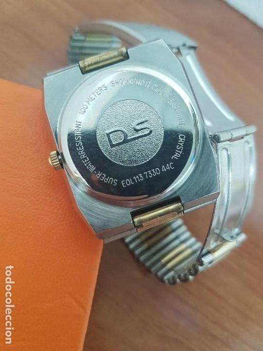Relojes: Reloj caballero (Vintage) CERTINA DS de cuarzo bicolor acero y oro todo original correa original. - Foto 15 - 143746070