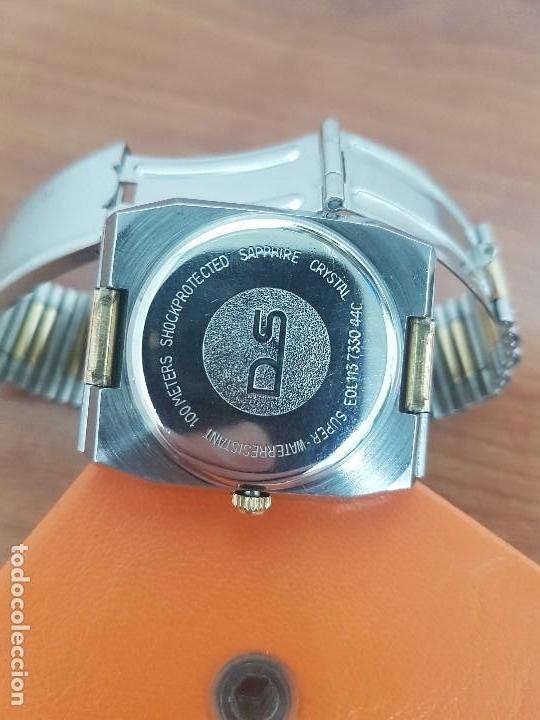 Relojes: Reloj caballero (Vintage) CERTINA DS de cuarzo bicolor acero y oro todo original correa original. - Foto 17 - 143746070