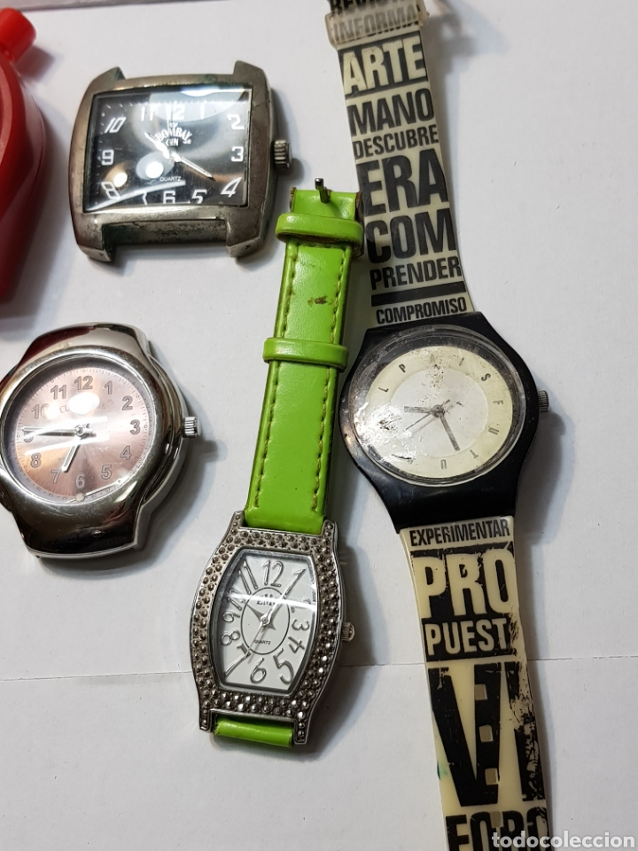 Relojes: Relojes lote 12 relojes de varios tipos - Foto 2 - 143775742