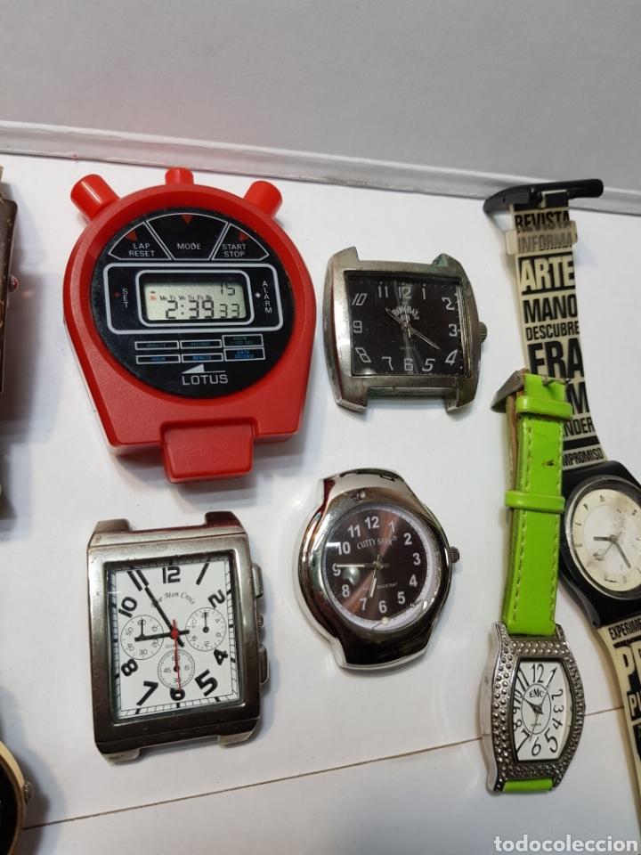 Relojes: Relojes lote 12 relojes de varios tipos - Foto 3 - 143775742