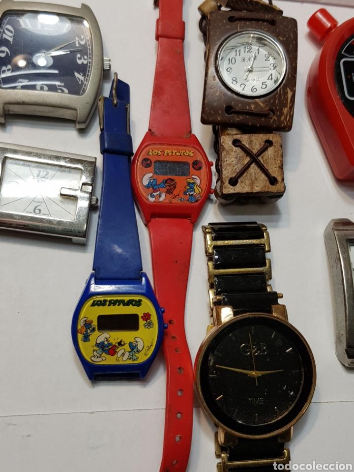 Relojes: Relojes lote 12 relojes de varios tipos - Foto 4 - 143775742