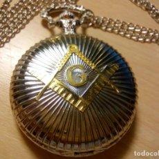 Relojes: RELOJ MASONICO CON CADENA.. Lote 146093170