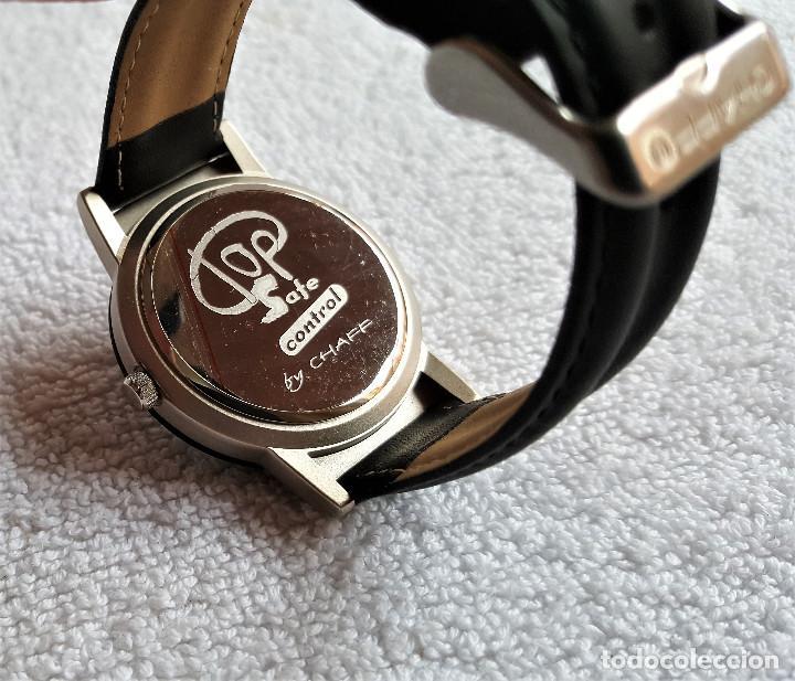Relojes: RELOJ TOP SAFE CONTROL EN ESTCHE SIN USO - ESFERA 2.8.CM DIAMETRO BANDA DE MATERIAL - Foto 2 - 144144486