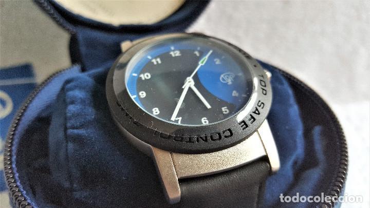 Relojes: RELOJ TOP SAFE CONTROL EN ESTCHE SIN USO - ESFERA 2.8.CM DIAMETRO BANDA DE MATERIAL - Foto 5 - 144144486
