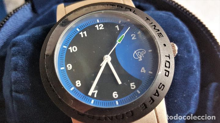 Relojes: RELOJ TOP SAFE CONTROL EN ESTCHE SIN USO - ESFERA 2.8.CM DIAMETRO BANDA DE MATERIAL - Foto 6 - 144144486