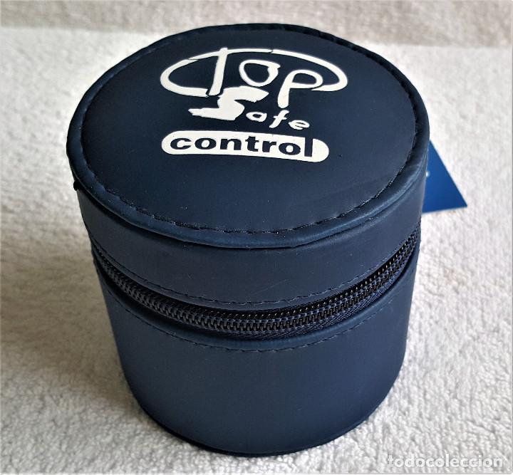 Relojes: RELOJ TOP SAFE CONTROL EN ESTCHE SIN USO - ESFERA 2.8.CM DIAMETRO BANDA DE MATERIAL - Foto 13 - 144144486