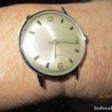 Relojes: TIMEX WATERPROOF ANTIGUO RELOJ CABALLERO FUNCIONANDO CARCASA A RESTAURAR. Lote 63369020