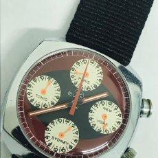Relojes: RELOJ VINTAGE BVLER SWISS MADE DE CUERDA. Lote 144355770