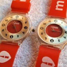 Relojes: PAREJA RELOJES YELMO CINES IDEAL COLECCION. Lote 144395090