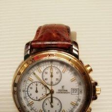 Relojes: RELOJ FESTINA CHRONOGRAPH QUARTZ CALENDARIO. Lote 144574602