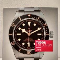 Relojes: CATÁLOGO TUDOR COLECCIÓN 2018. 95 PÁGINAS ILUSTRADAS COLOR.. Lote 144779486