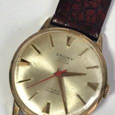 Relojes: RELOJ VINTAGE CAUNY ROYAL DE LUXE 17RUBIS INCABLOC. Lote 144972136