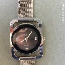 Relojes: ELEGANTE RELOJ DE ACERO DE LA MARCA GO GIRL ONLY, CON CADENA DE MALLA. Lote 145695386