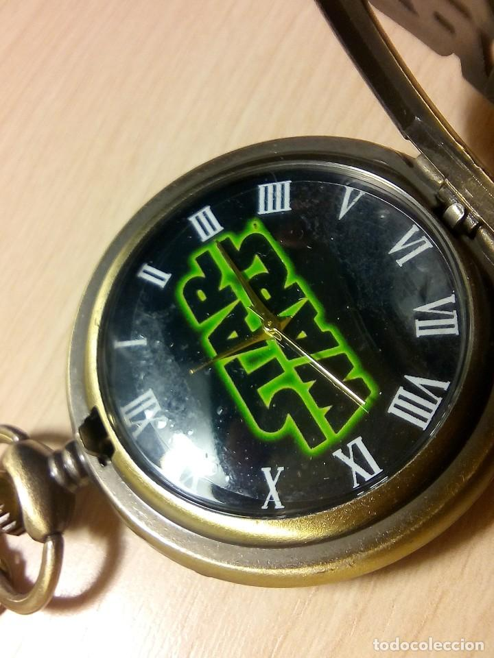 RELOJ TEMATICO PELICULA LA GUERRA DE LAS GALAXIAS (Relojes - Relojes Actuales - Otros)