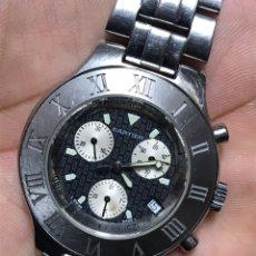Relojes: RELOJ QUARZO CHRONOGRAP CALENDAR. Lote 145748986