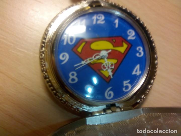Relojes: RELOJ BOLSILLO TEMATICO SUPERMAN - Foto 2 - 146506966