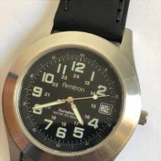 Relojes: RELOJ ARMILTRON DURASTEEL CALENDAR QUARTZ. Lote 146867653